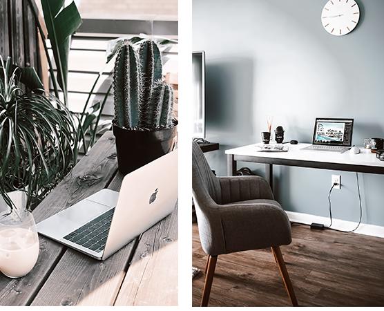 10 Ideen für ein schönes Home- Office