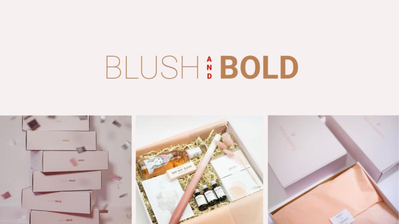 BLUSH & BOLD – Besondere Geschenke für besondere Menschen