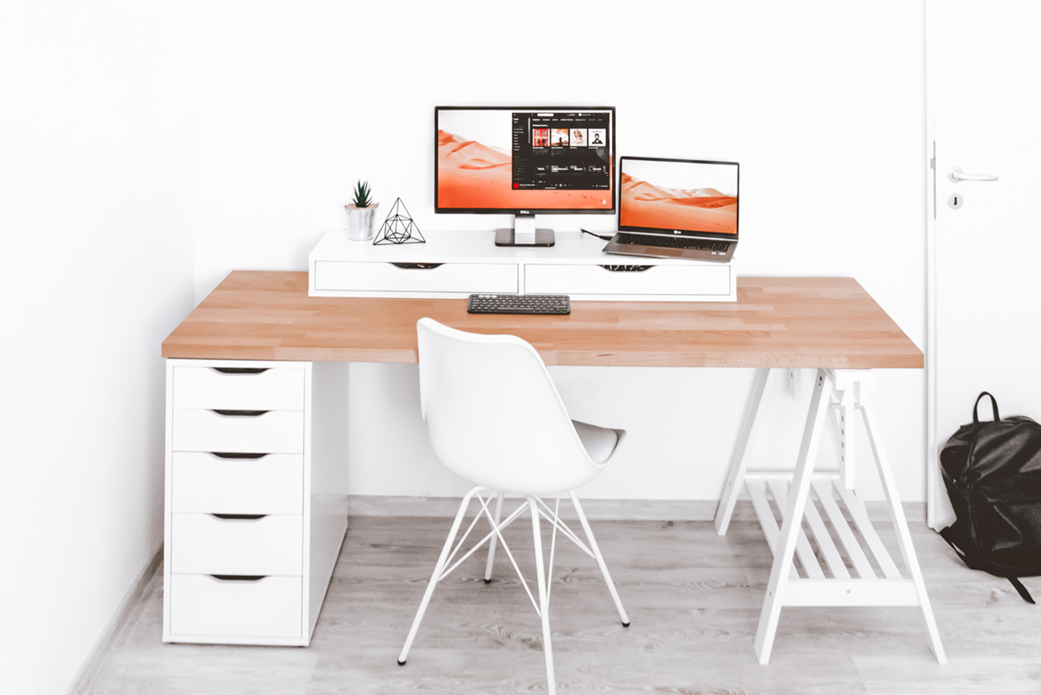 Homeoffice: 10 Ideen für einen schönen heimischen Arbeitsplatz